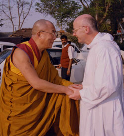 Fr. Laurence Freeman and the Dalai Lama